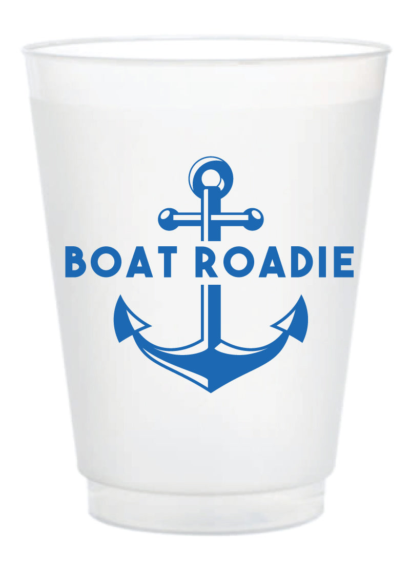 Frosted Cup - Boat Roadie