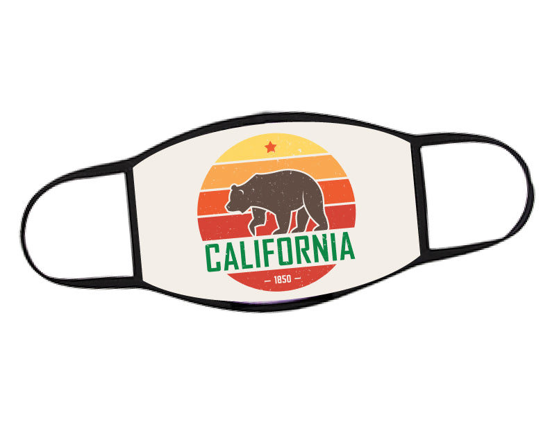 FACE MASK - California Republic Bear