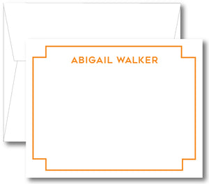 Classic Notecard - Square Border (click for more colors options)