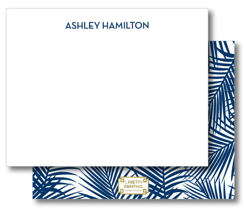 Notecard Double Sided - Palm Print