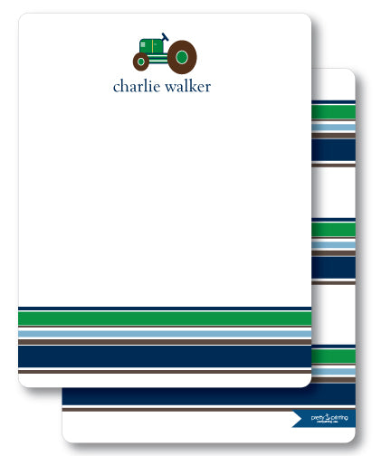 Notecard Double Sided - Tractor