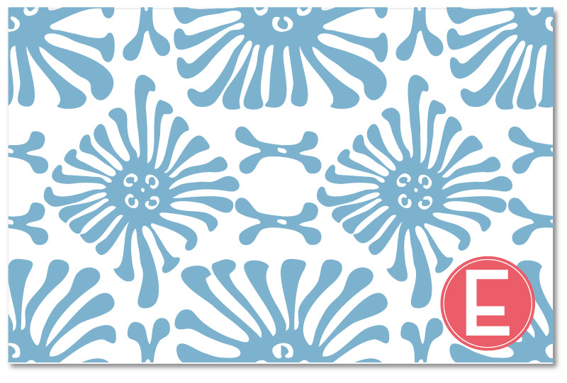 Laminated Placemat - Flagler Blue