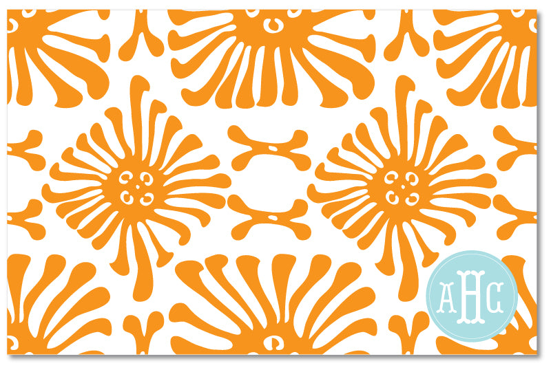 Laminated Placemat - Flagler Orange
