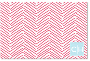 Cutting Board - Herringbone Nantucket Red