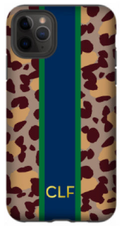 Phone Case - Preppy Leopard