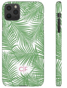 Phone Case - Bal Harbour Palm Print