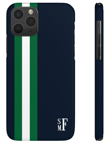 Phone Case - Racing Stripe navy