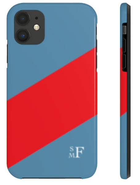 Phone Case - Sailing Stripe Blue
