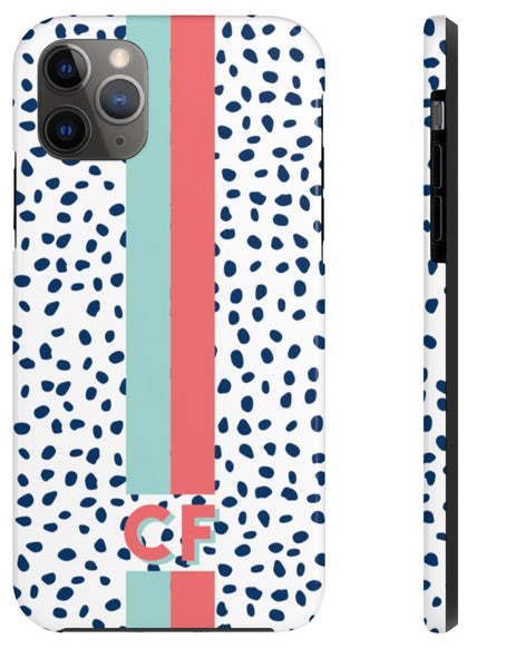 Phone Case - Spots + Stripes