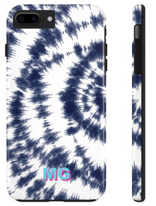 Phone Case - Tie Dye Navy