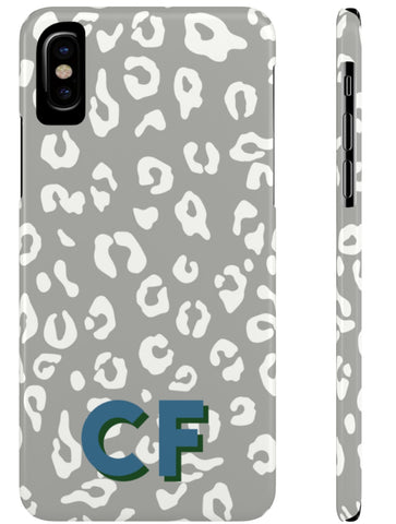 Phone Case - Chic Leopard Grey