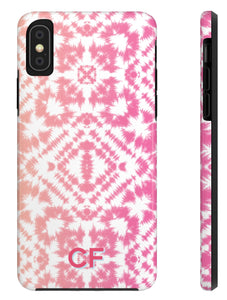 Phone Case - Tie Dye Pinks