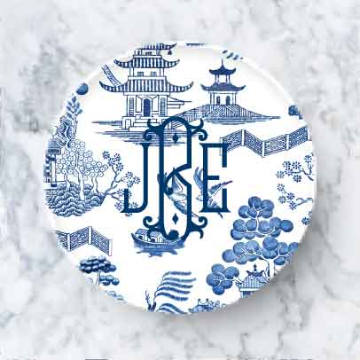 Plate - Toile
