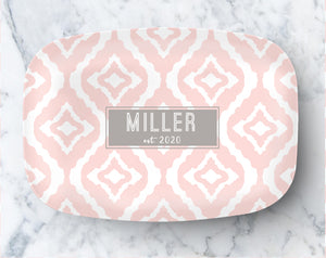 Platter - New Ikat Blush