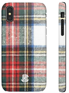 Phone Case - Holiday Plaid