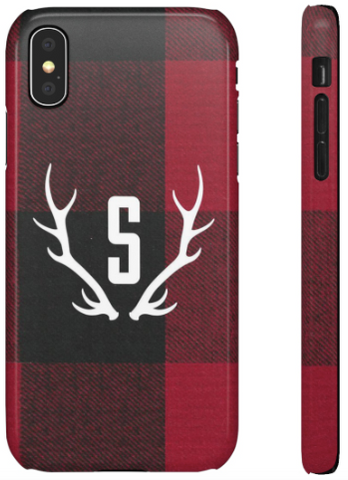 Phone Case - Buffalo Plaid Red