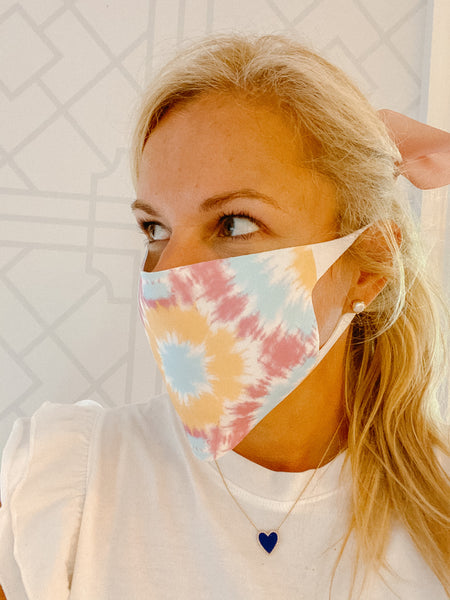 FACE MASK QUICK SHIP - Two Pack - Tie Dye Assorted