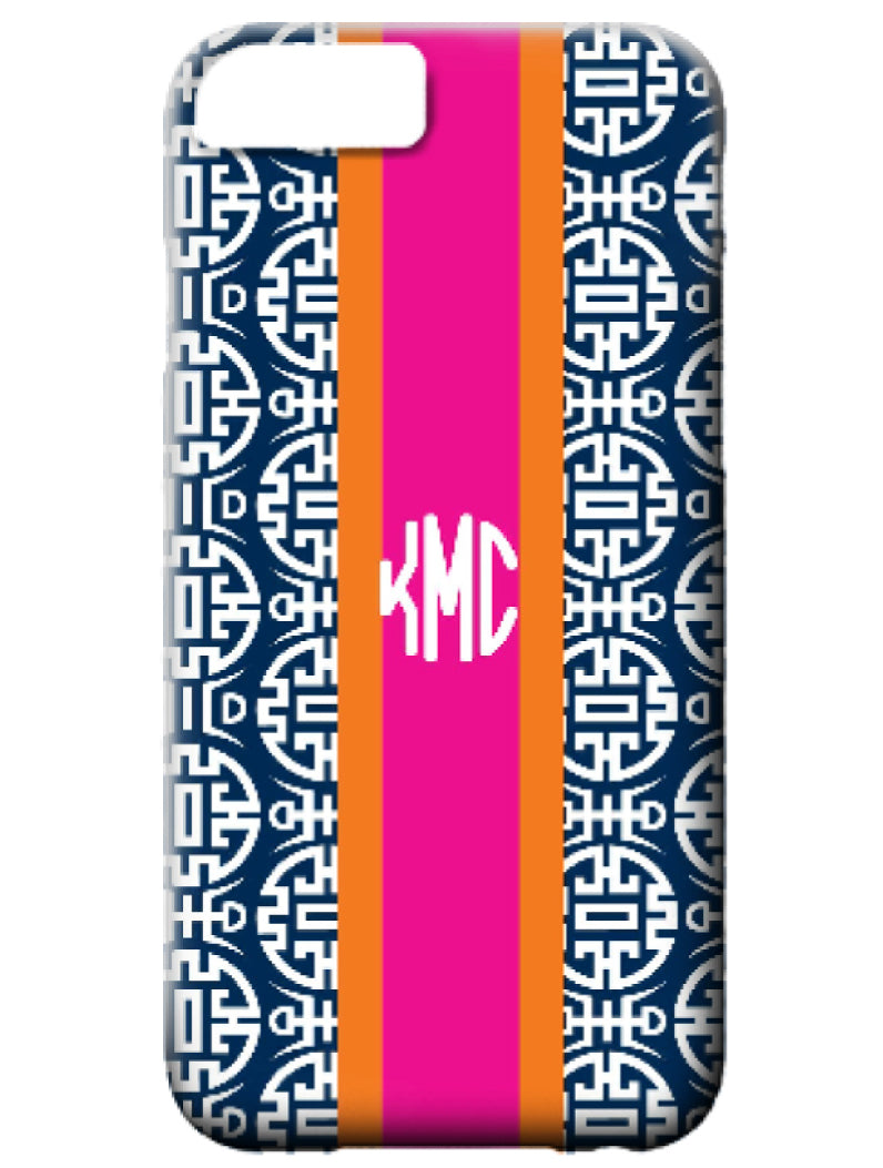 Phone Case - Chinoiserie Navy