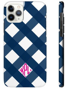 Phone Case - Gingham (more colors available)