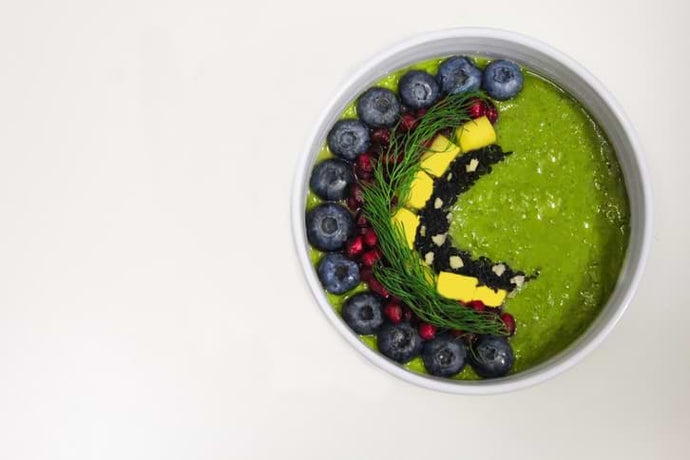 This Matcha Smoothie Bowl Is So Gorgeous