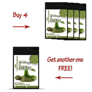 Buy 4 Matcha Green Tea's Get 1 FREE + FREE SHIPPING