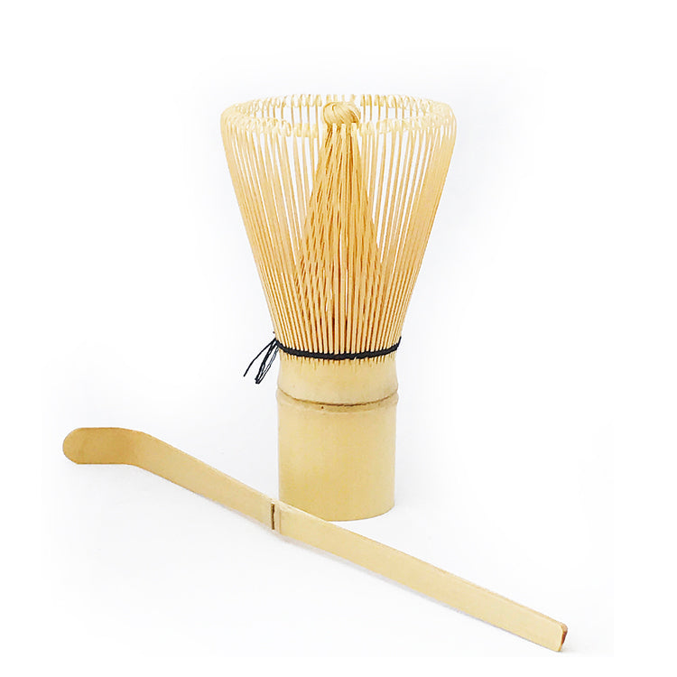 Bamboo Whisk & Spoon