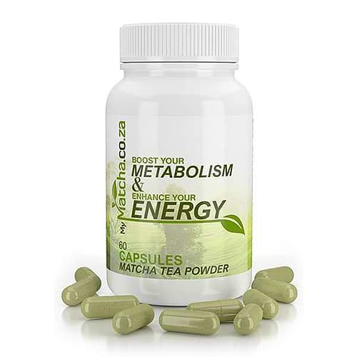 Matcha Tea Pills Capsules