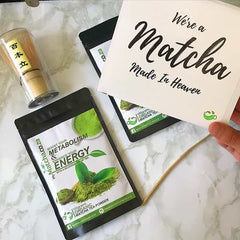 myMatcha Gift Set - Two packets with Whisk and Spoon