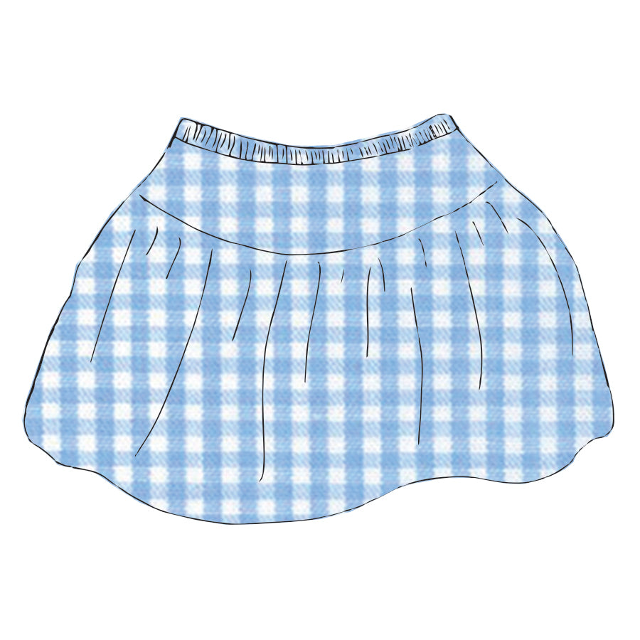 Gingham Claire Skirt