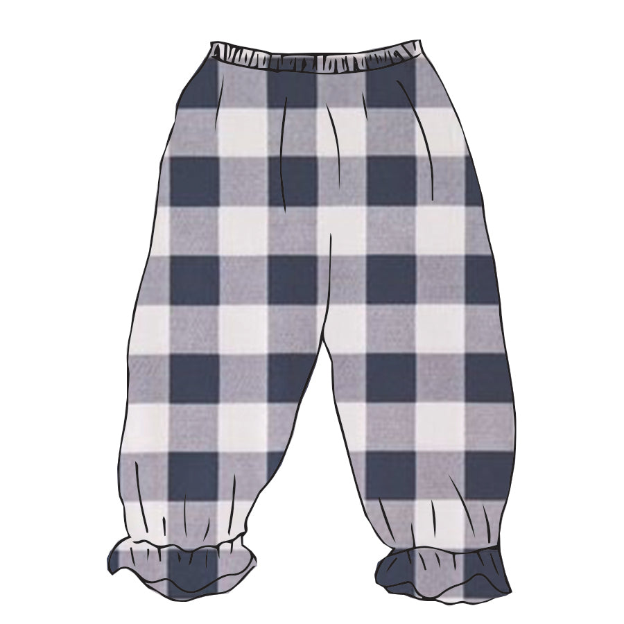 Buffalo Plaid Ellison Pantaloon Pant