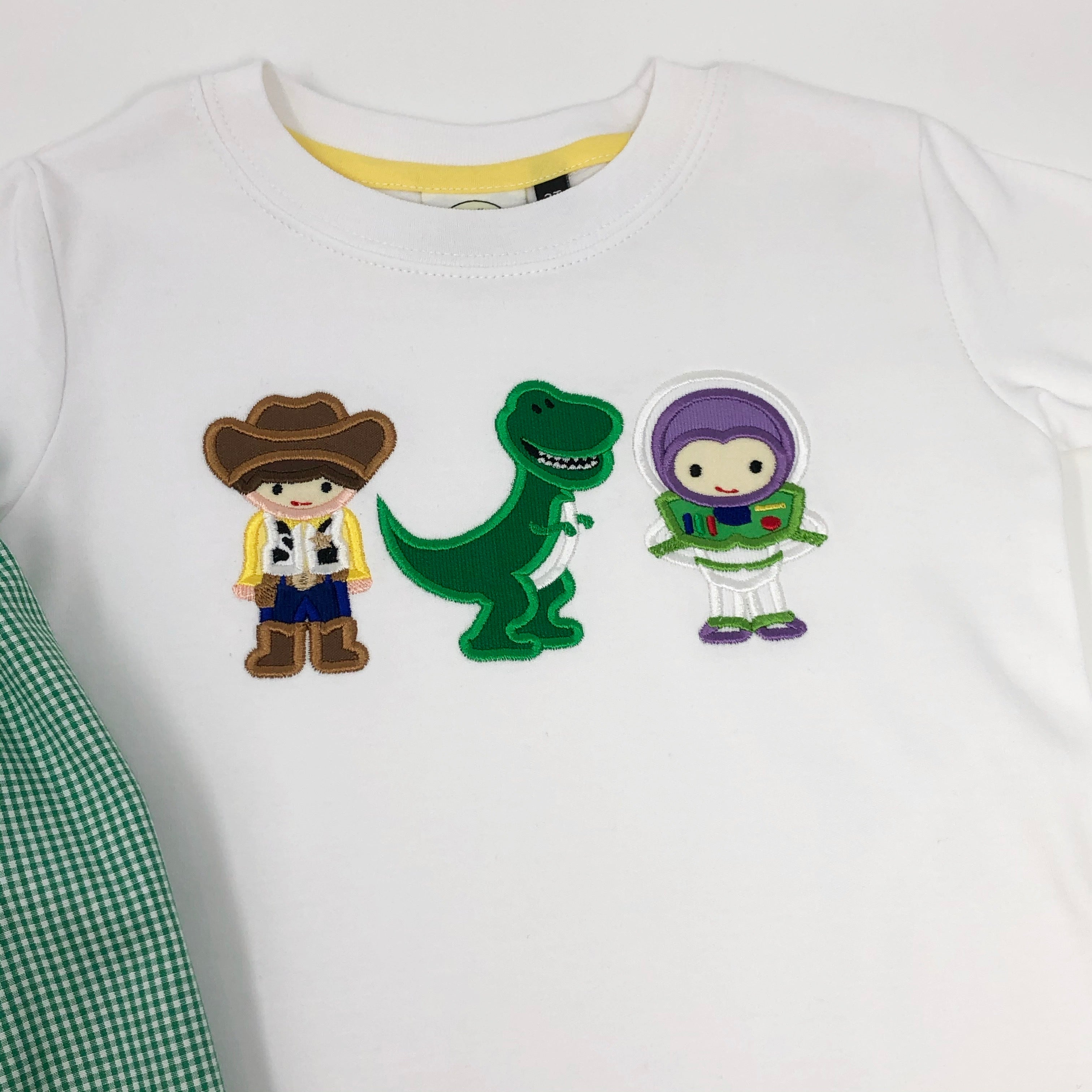 Toy Friends Trio Applique Girls Top