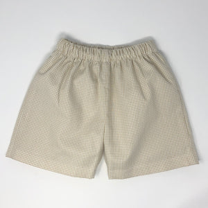 Gingham Sam Short