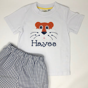 Tiger Head Boys T-Shirt