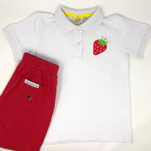 Strawberry Boys Polo