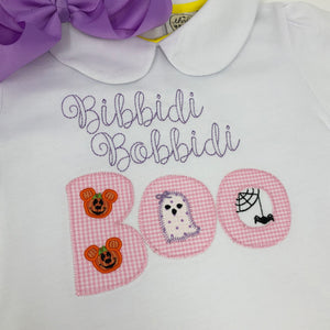 Bibbidi Bobbidi Boo Girls Applique Top