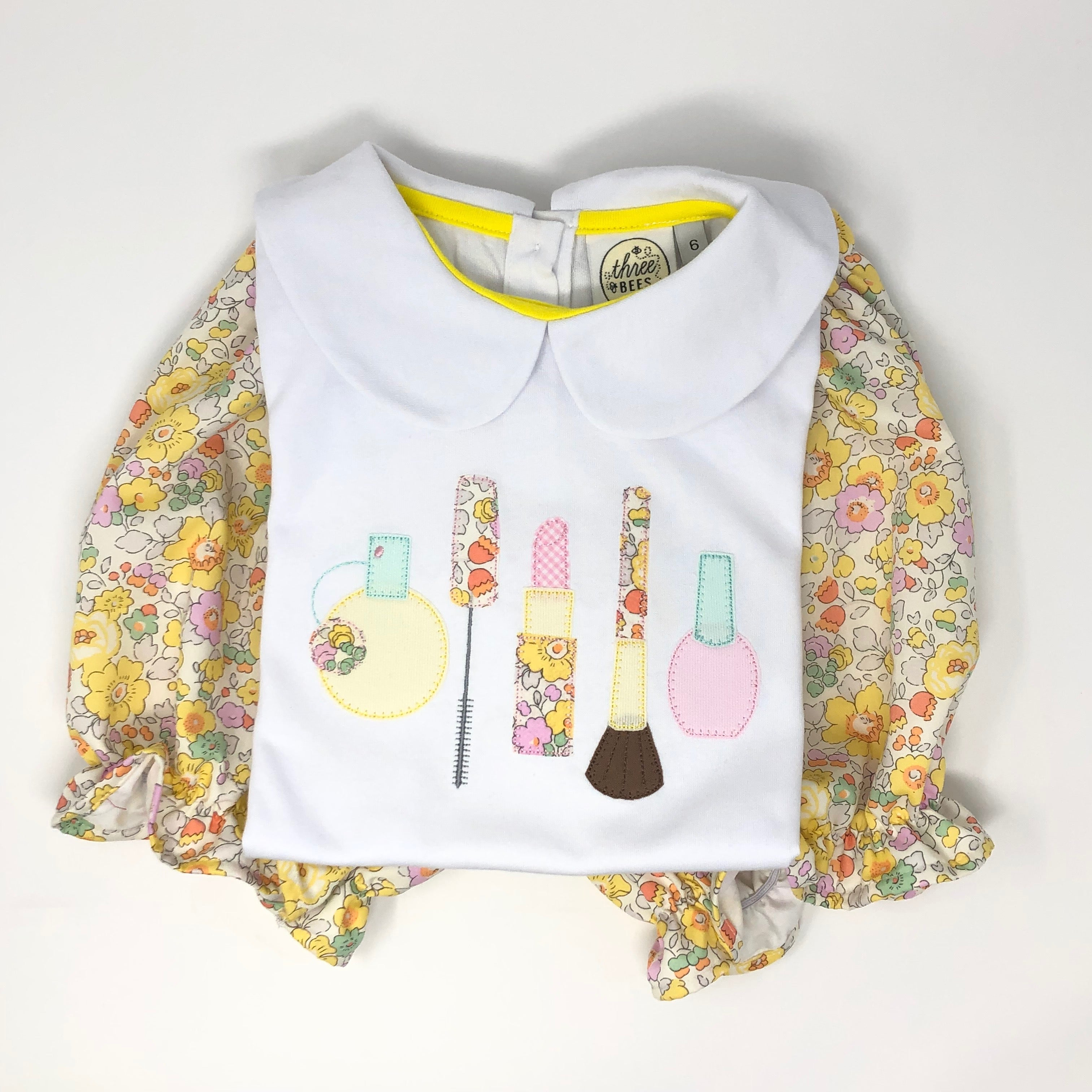 Make Up Applique Girls Top