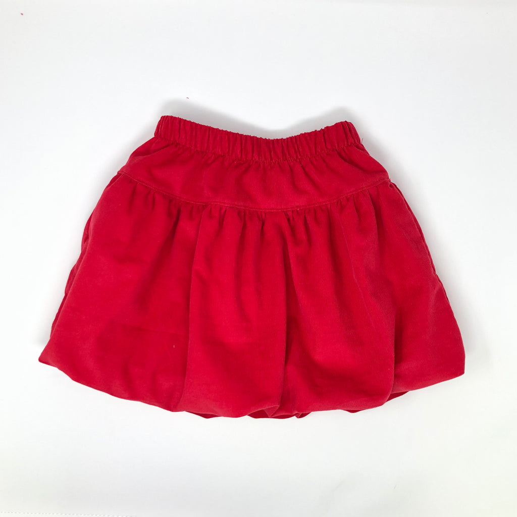 Claire Corduroy Bubble Skirt