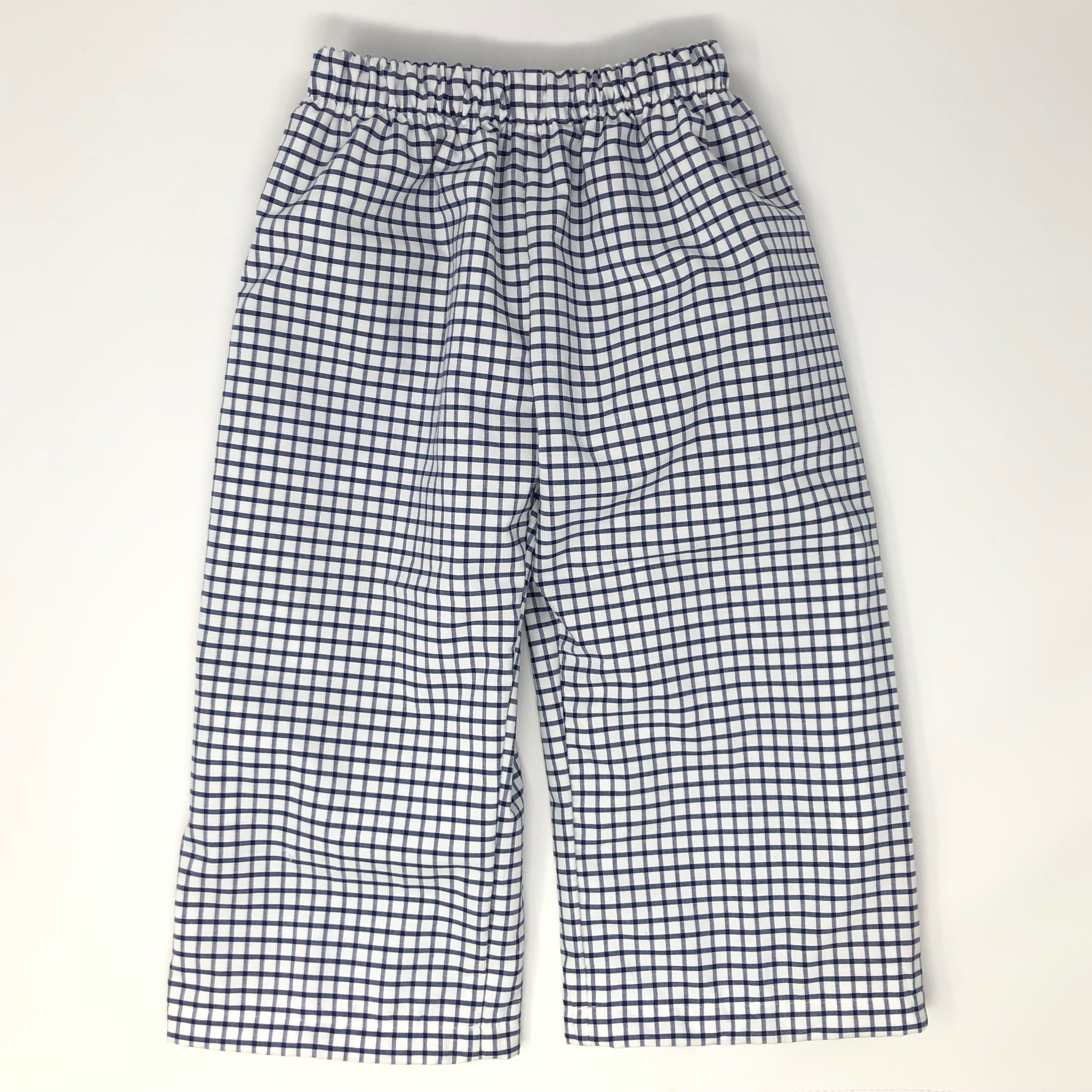 Pima Windowpane Ashton Pant