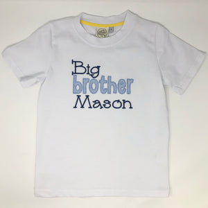 Big Brother Applique Boys T-Shirt