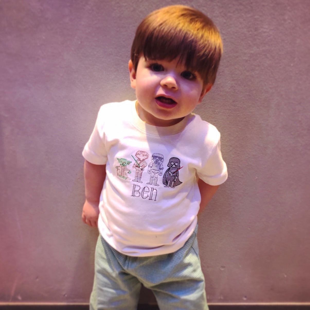 The Force Little Boy T-Shirt