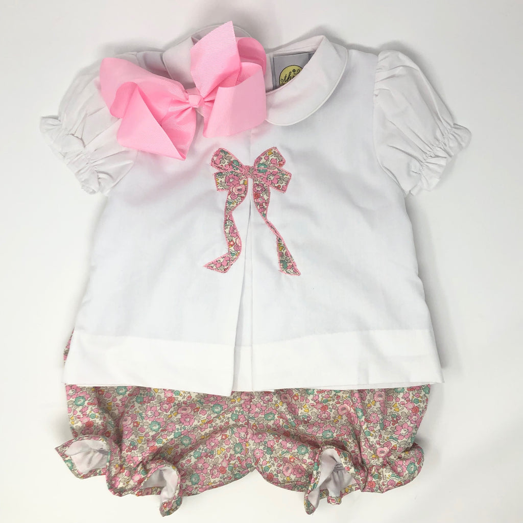 Betsy Bow Applique Emma Top