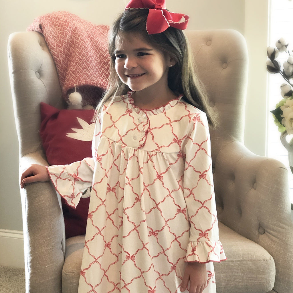 Trellis Bow Nightgown