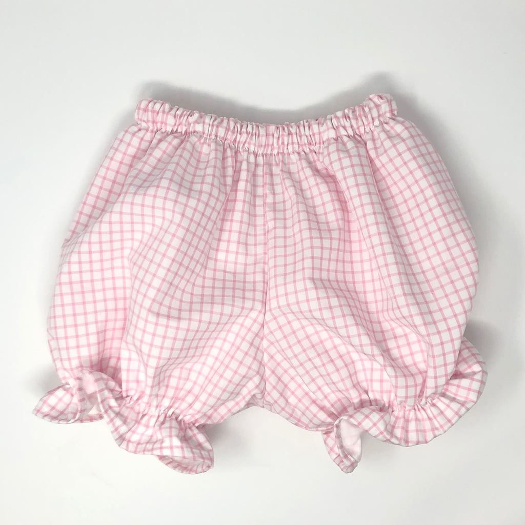 Pima Windowpane Ellison Pantaloon Bloomers