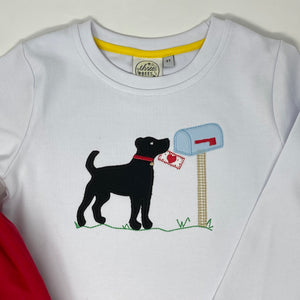Lab Love Letter Applique Boys T-shirt