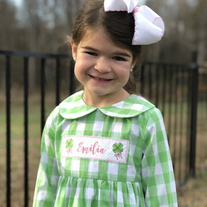 Personalized Patch Stella Dress