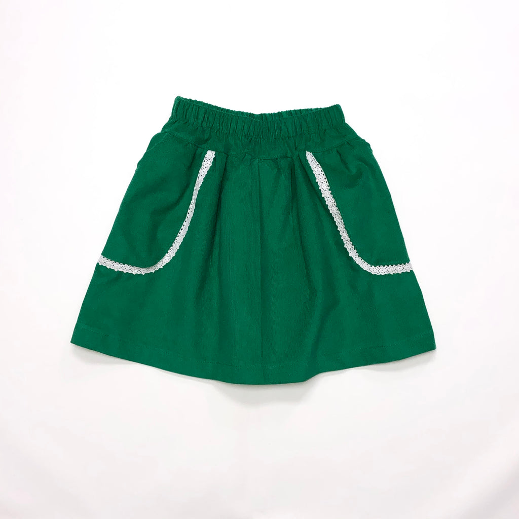 Claire Straight Corduroy Pocket Skirt