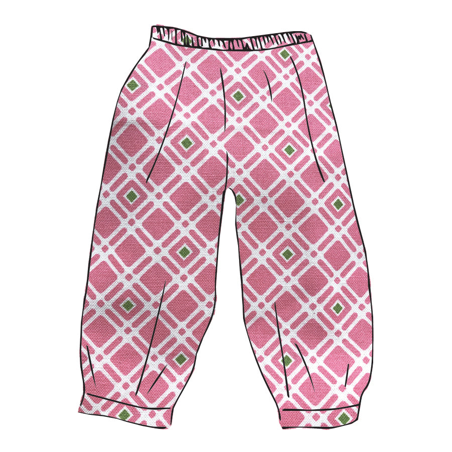 Novelty Landon Fabric Banded Pant (Unisex)