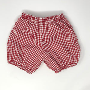 Gingham Rhett Banded Short