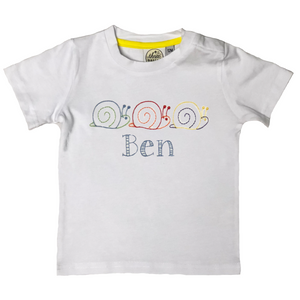 Boys Snail Trio T-Shirt