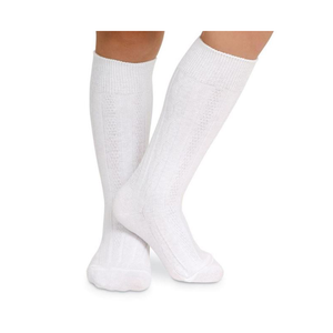 Classic Cable Knee High Socks (Unisex)